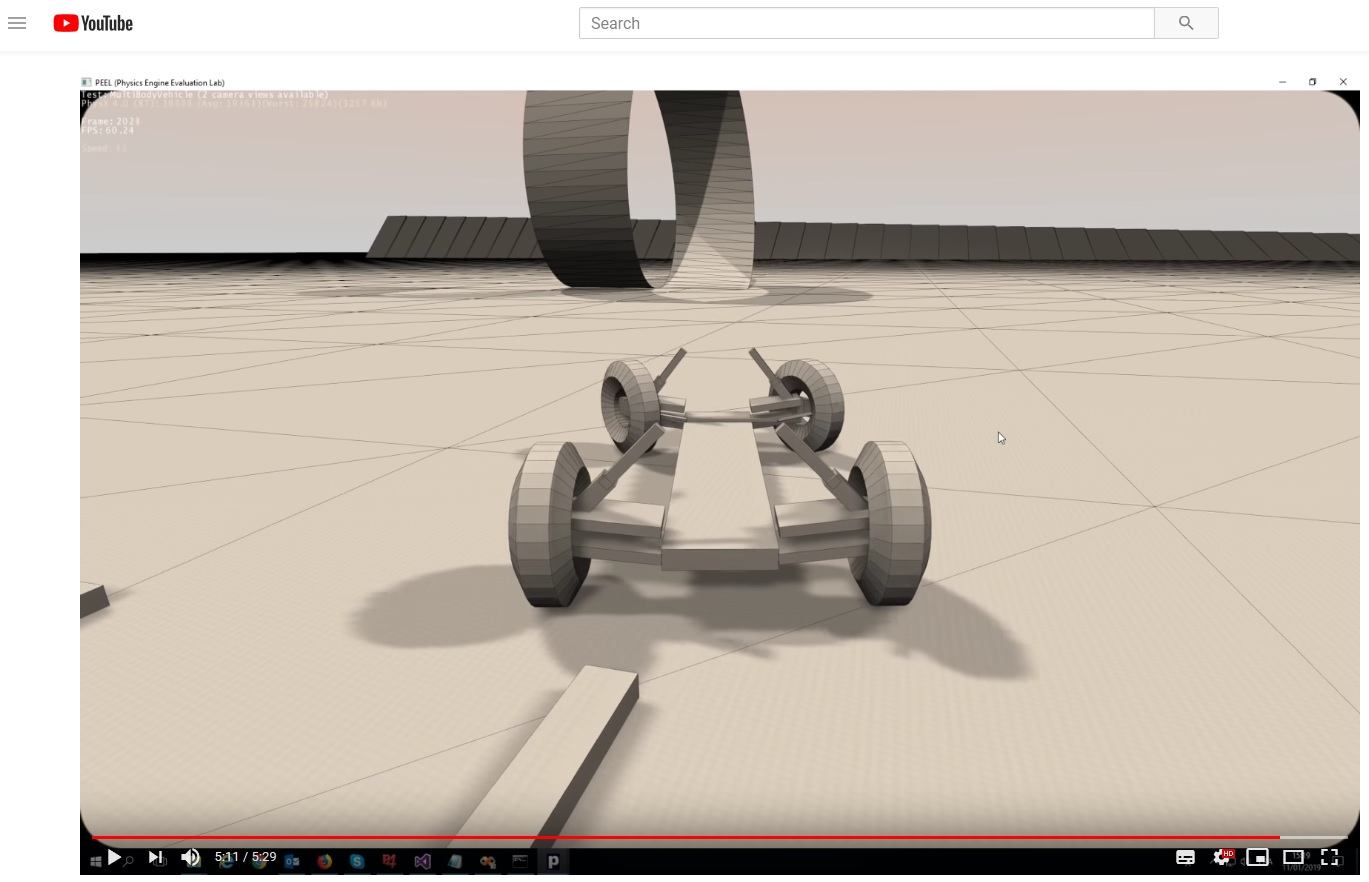 Coder Corner » Archivio Blog » PhysX 4 0 in PEEL 2 0 showreel